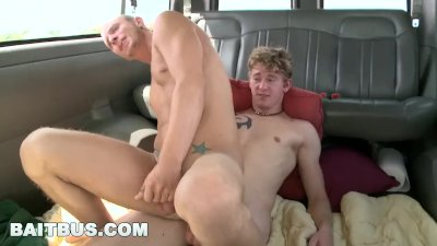 BAITBUS - Cole Brooks and Randall O'Reilly Gay Sex In Miami