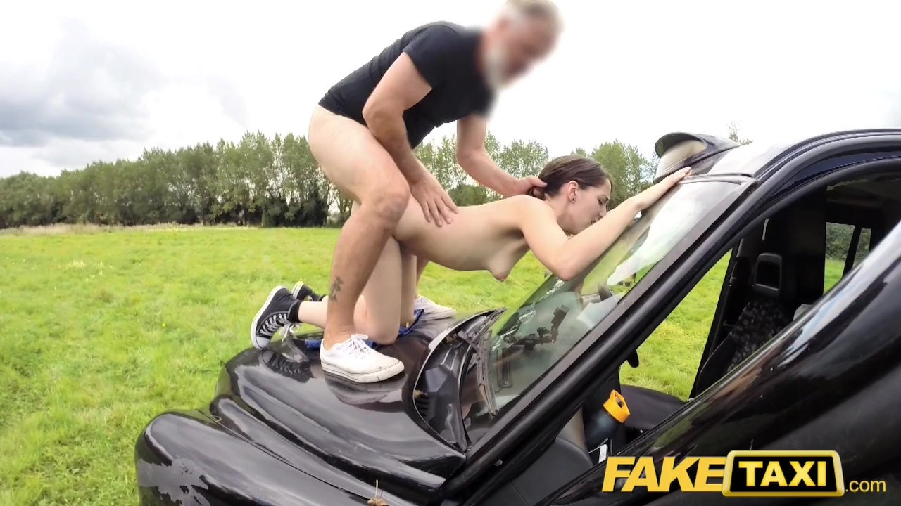 Female Fake Taxi Cumshot