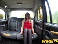 Fake Taxi Amazing deepthroat gagging brunette with all the trimmings