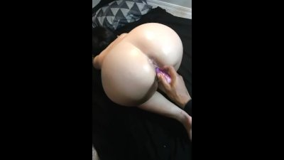 Cheating big booty wife get's her tight pussy & asshole played with!