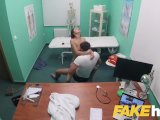 fake hospital swallowing doctors hot cum helps soothe babes throatPorn Videos