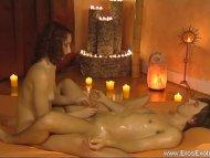 Sensual Handjob Massage For His Dick