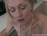 The Swinger Experience Presents Grandmother With Pearls Homemade Blowjob