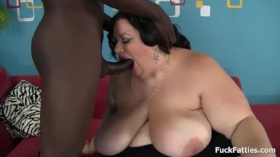 BBC Takes On Big Fat BBW Slut