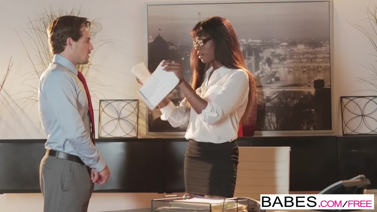 Preview 5 of Office Obsession - Bitch Boss Starring Tyler Nixon And Ana Foxxx