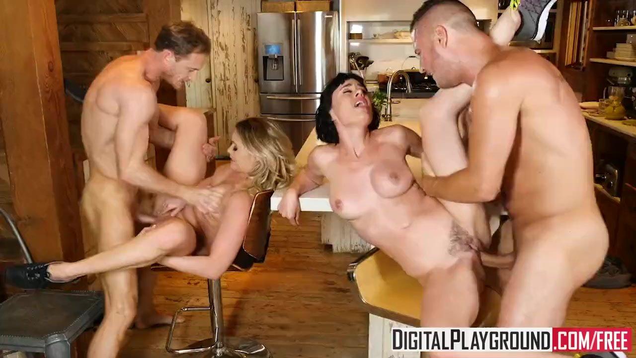 DigitalPlayground - Couples Vacation Scene 5 Mia Malkova and Olive Glass