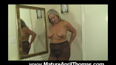 Mature Slut Teases In Evening Dress