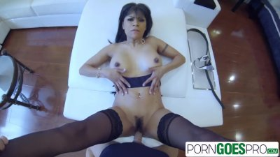 PornGoesPro - Watch Latina Gabby Quinteros pounded by a big dick, big booty