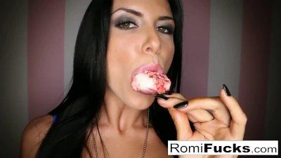 Romi Rain Sexy Fun with herself