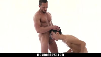 MormonBoyz- Submissive Boy Fucks Two Older Men