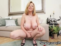 Hot Busty Milf Sara Jay Is Ready To Squirt Just For You