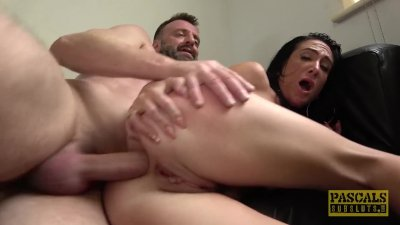 Milf slut Ella Bella got banged hard in the ass by Pascal