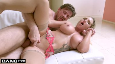 BANG Gonzo - Blonde nympho Cali Carter gets her pussy stretched