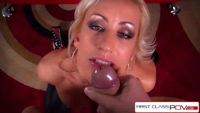 FirstClassPOV - Enjoy MILF Zoey Portland sucking a big dick, big boobs