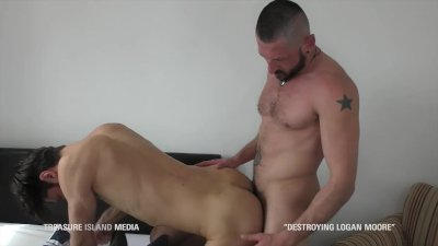 Dimi Brutal's first shoot hot Bulgarian ass ruined by Felix Strike