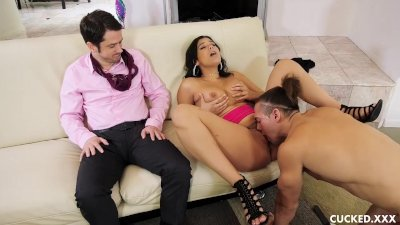 Violet Starr Fucks Her Cucked Husband's Brother and His Big Cock