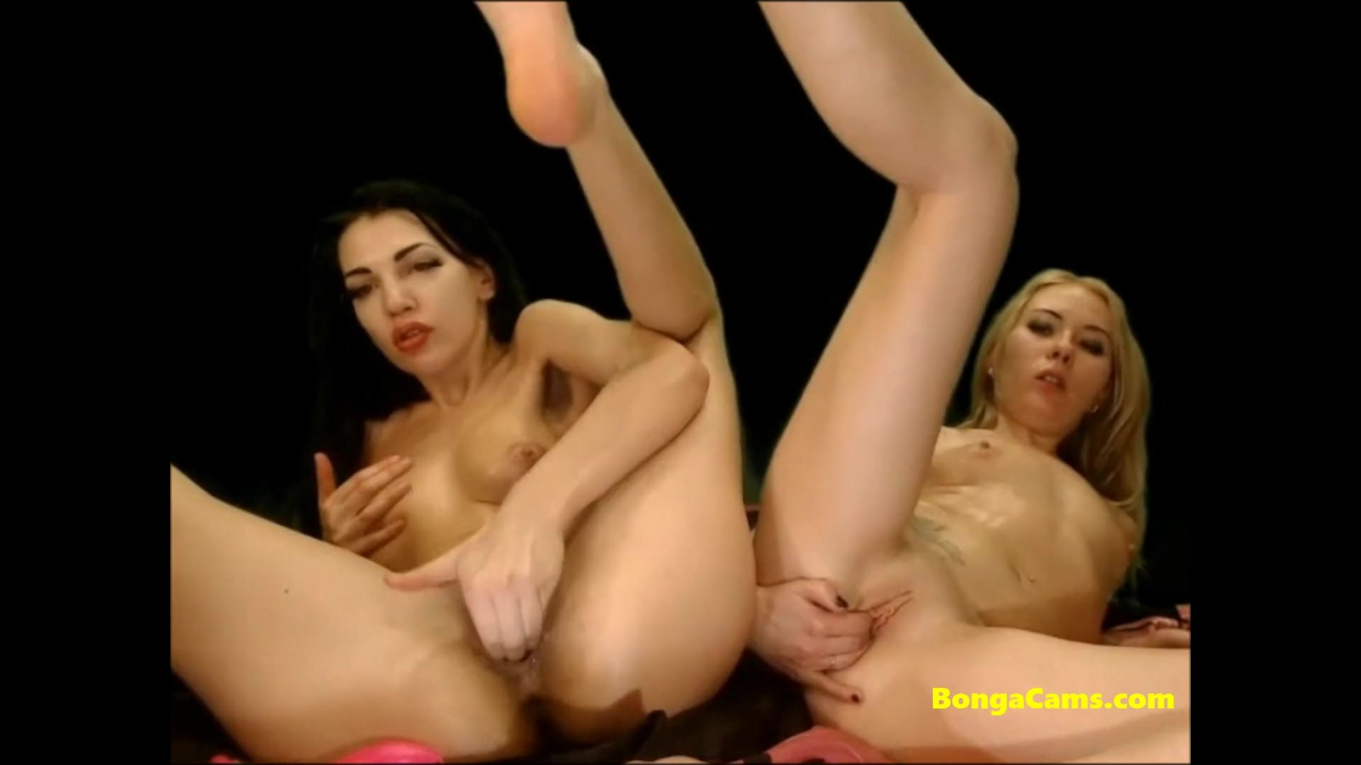Two busty babes having the most passionate lesbian sex and scissoring