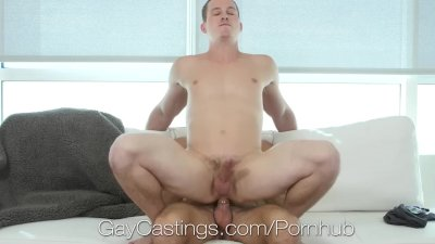 GayCastings Casting agent fucks naive newcomer Tommy Regan
