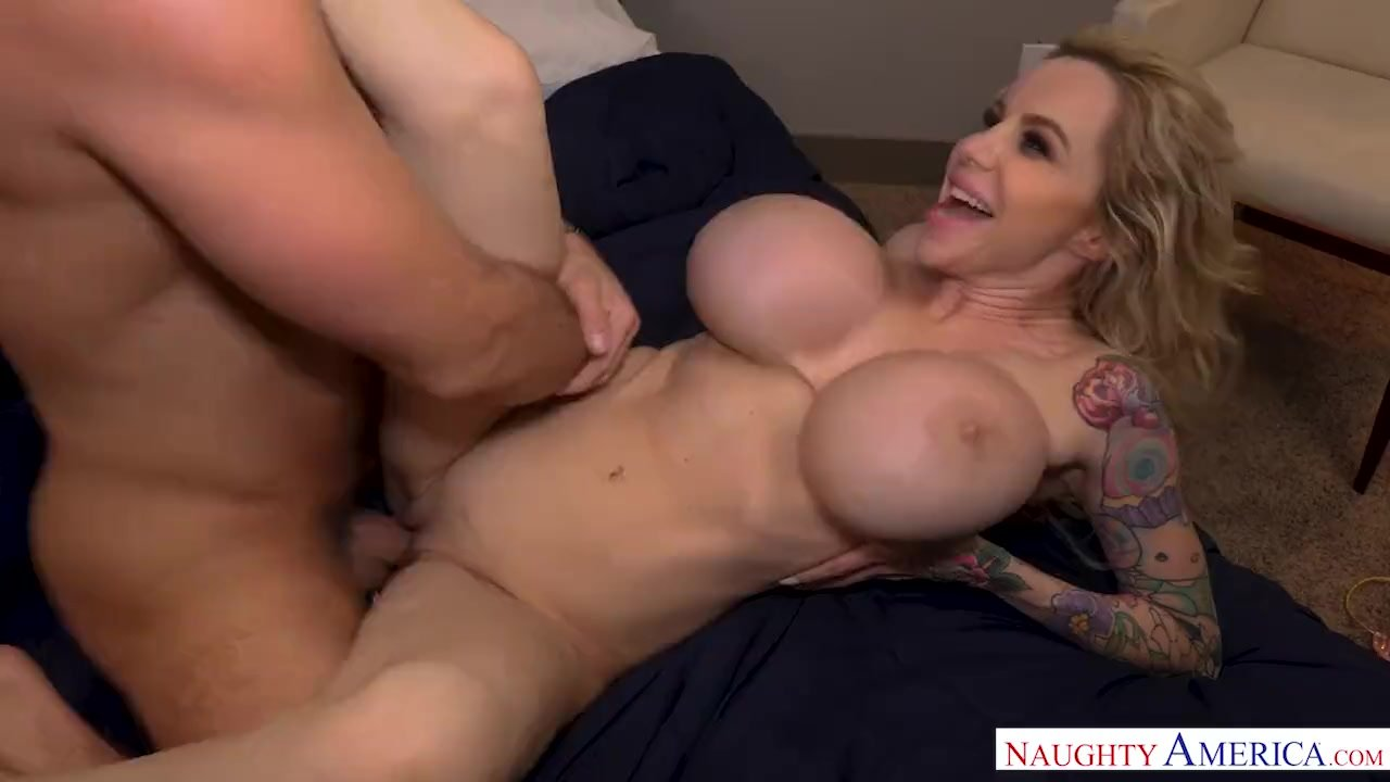 Missionary/huge cougar danielle tits lucky