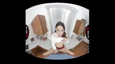 VirtualRealPorn.com - Collage girl