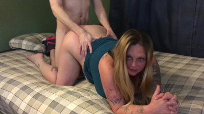 New Whore get fucked doggy trash loose pussy hotdog down hallway TX Houston