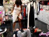 sex shop foot slave trampled by imani seductionPorn Videos