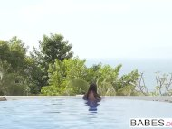 Babes - Elegant Anal - Fun Pool starring Joel and Martina Gold