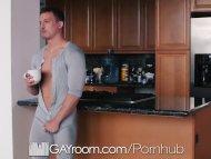 GayRoom Morning bulge turns into ass pounding