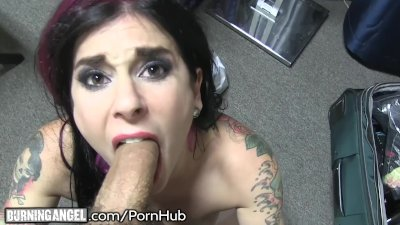 Playful On Set POV Blow and Fuck With Joanna Angel