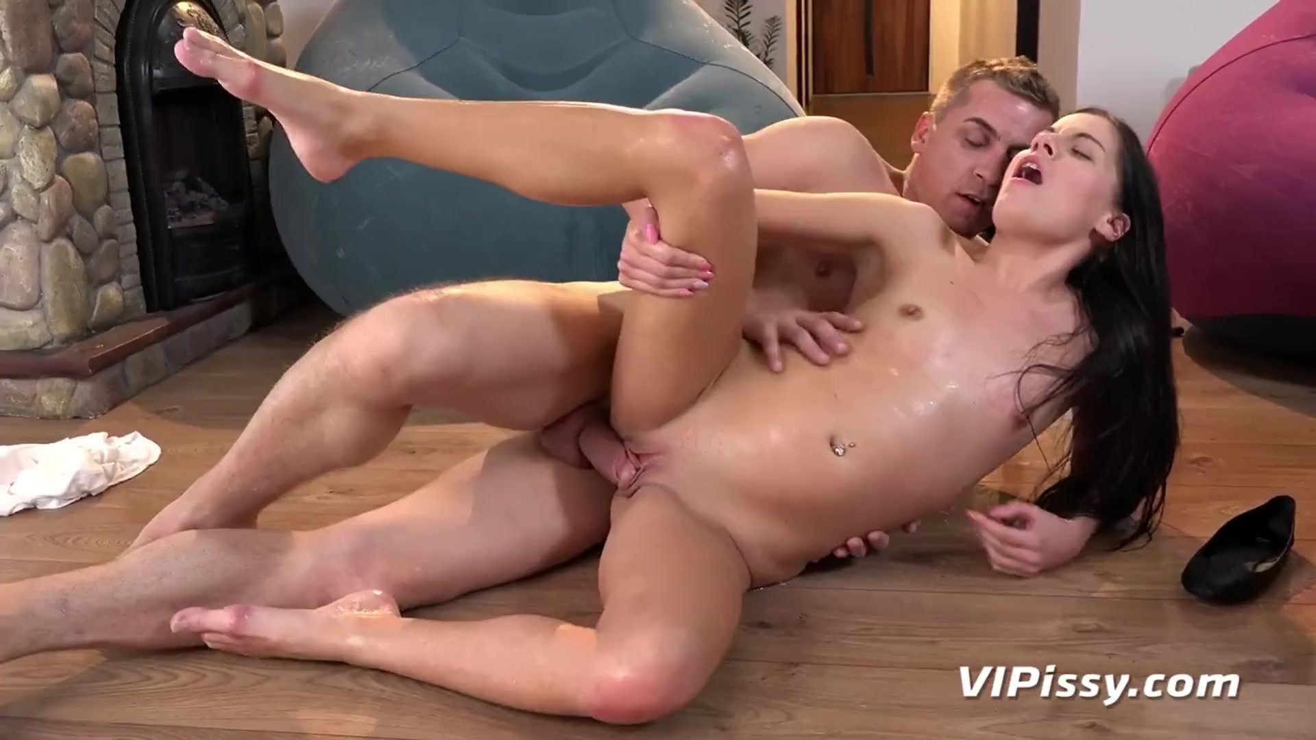 Piss Drinking - Thirsty Czcech girl drinks piss after hard fucking
