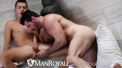 ManRoyale Rough ass fucking with Shawn Andrews and Billy Santoro