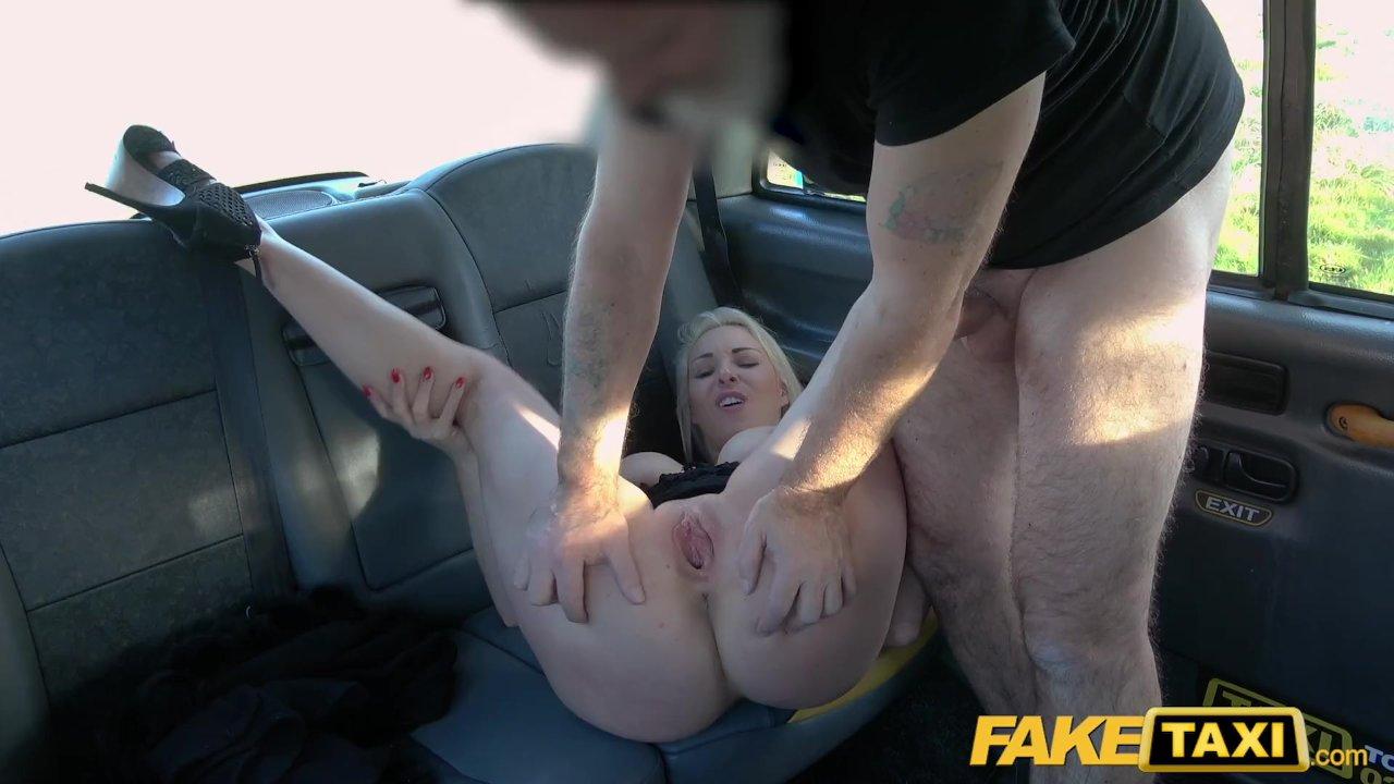 Blonde Teen Creampie Fake Taxi