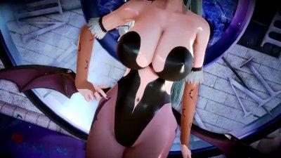 [HONEY SELECT] MORRIGAN SEXY GAMEPLAY
