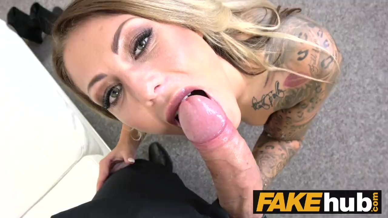 Bald pussy/hardcore/tattoos on casting natural and
