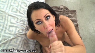 Reagan Foxx Can't Wait to Taste That Cock-POV!
