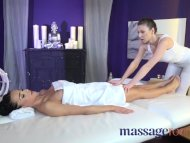 Massage Rooms Czech beauty gets full service treatment and multiple orgasms