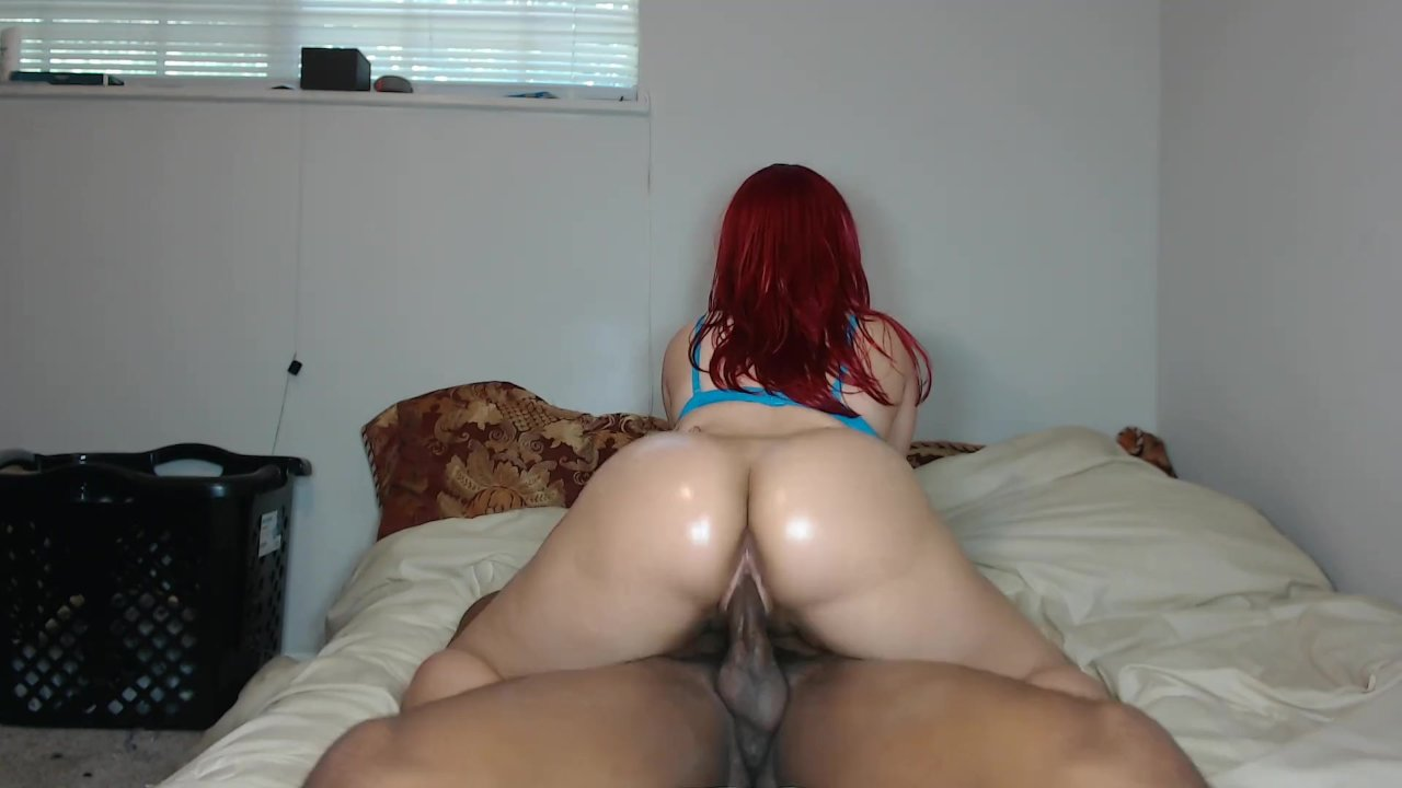 Big Booty Riding Black Dick