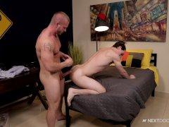 Man making sex