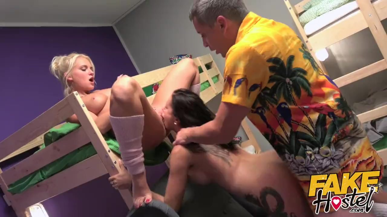 Big boobs/horny fucked brunette and girls