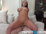 propertysex - sex addict tenant with big tits fucks landlordPorn Videos