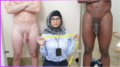 MIA KHALIFA - My Experiment Comparing ebony Dicks to White Dicks