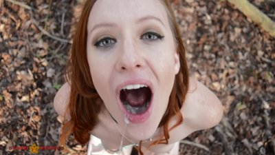 Sex Vlog 6 cum swallow in the woods