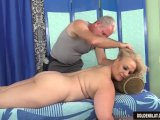 older blonde summer has her body and genitals massaged3gp Porn Videos