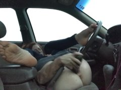 Fat Cucumber Makes Me Squirt In A Public Parkinglot Freckledred