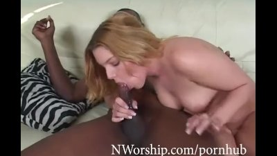 Bbc Wet anal fuck with Sexy Blonde Candi Apple