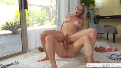 MILF Brandi Love Fucks Young Hung Stud