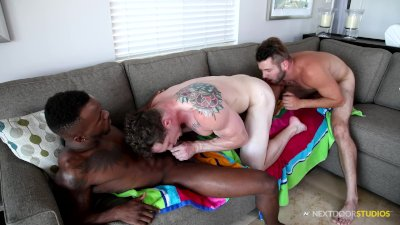 Big Dick Interracial Bareback Group Sex With My Fav Boys