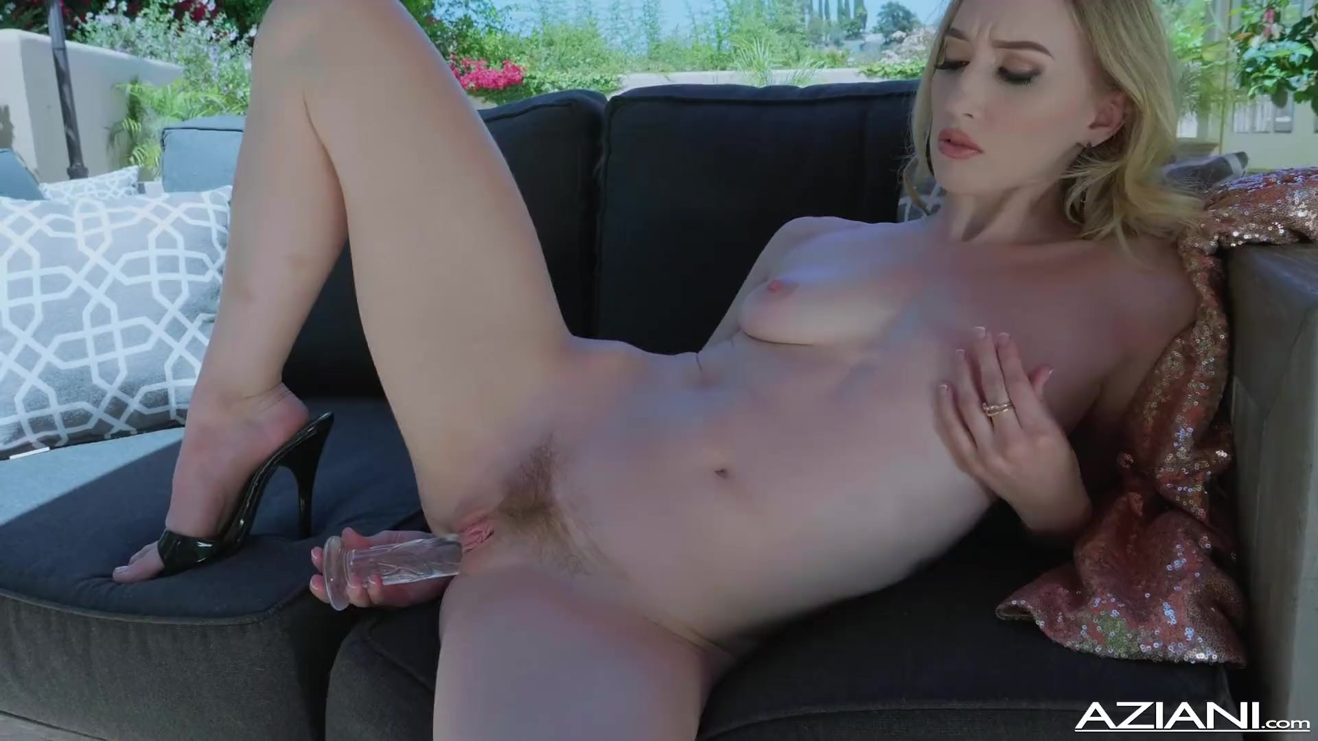 Skinny/public/with her dildos pussy riley