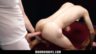 MormonBoyz - Masked Daddy Barebacks Teen