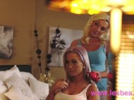 Lesbea Freckled and blonde big natural tits lesbians tribbing